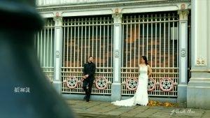 Manchester Wedding couple